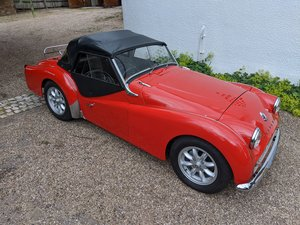1961 TRIUMPH TR3A.GROUND UP RESTORATION