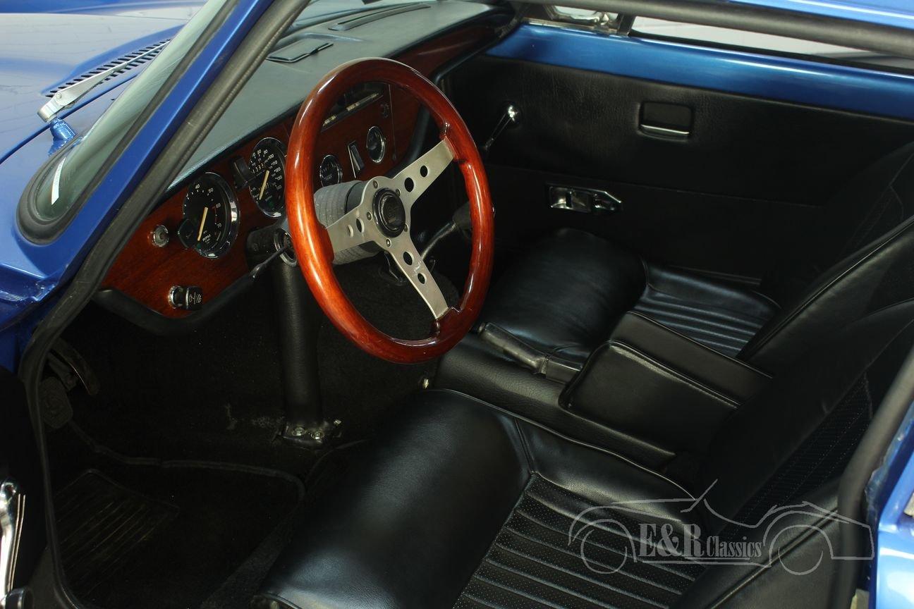 Triumph GT6 MK3 1973 Blue For Sale (picture 3 of 6)