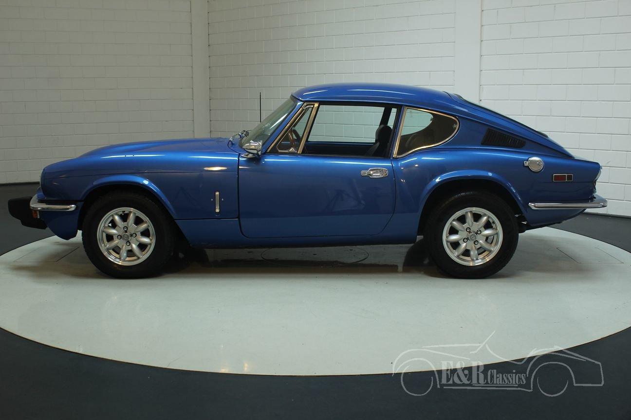 Triumph GT6 MK3 1973 Blue For Sale (picture 6 of 6)