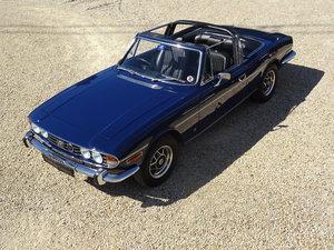 1974 Triumph Stag: Full Restoration + Manual/O'drive