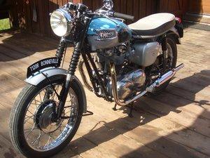 1961 Triumph Bonneville PreUnit T120R
