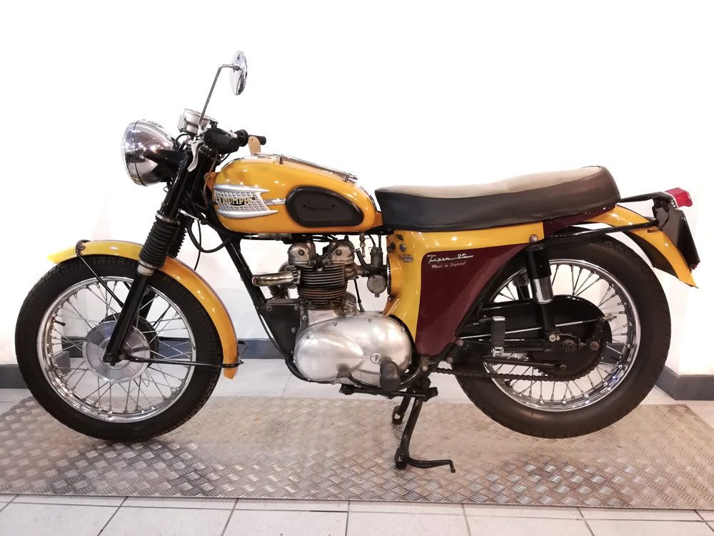 1965 Triumph T90 Tiger 350cc For Sale (picture 6 of 6)