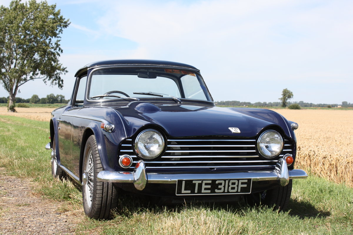 TR5 1968 MATCHING NUMBERS CAR WITH OVERDRIVE SOLD (picture 1 of 6)