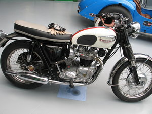 1966 Triumph Bonneville T120, Very nice original condition