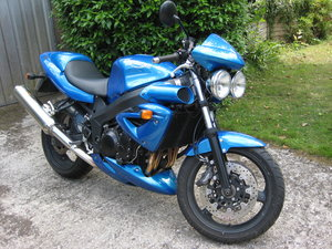 Triumph Speed Four Great Ride
