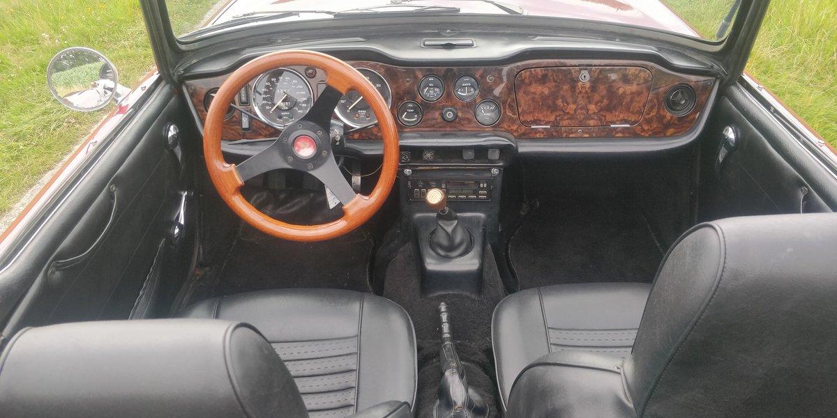 1974 Triumph TR6 '74 Bordeaux LHD For Sale (picture 4 of 6)