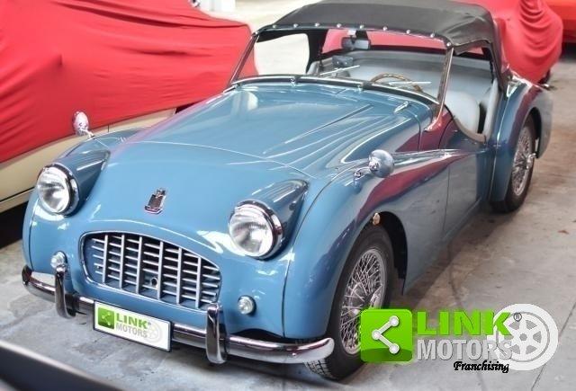 Triumph TR3 Small Mouth Restauro totale - 1956 For Sale (picture 1 of 6)