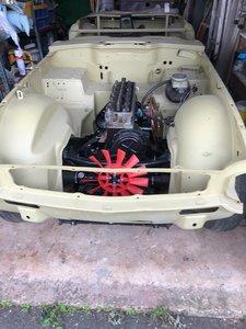 1972 Triumph TR6 Project