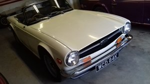 TRIUMPH TR6 150HP  UK GENUINE HONEST CAR
