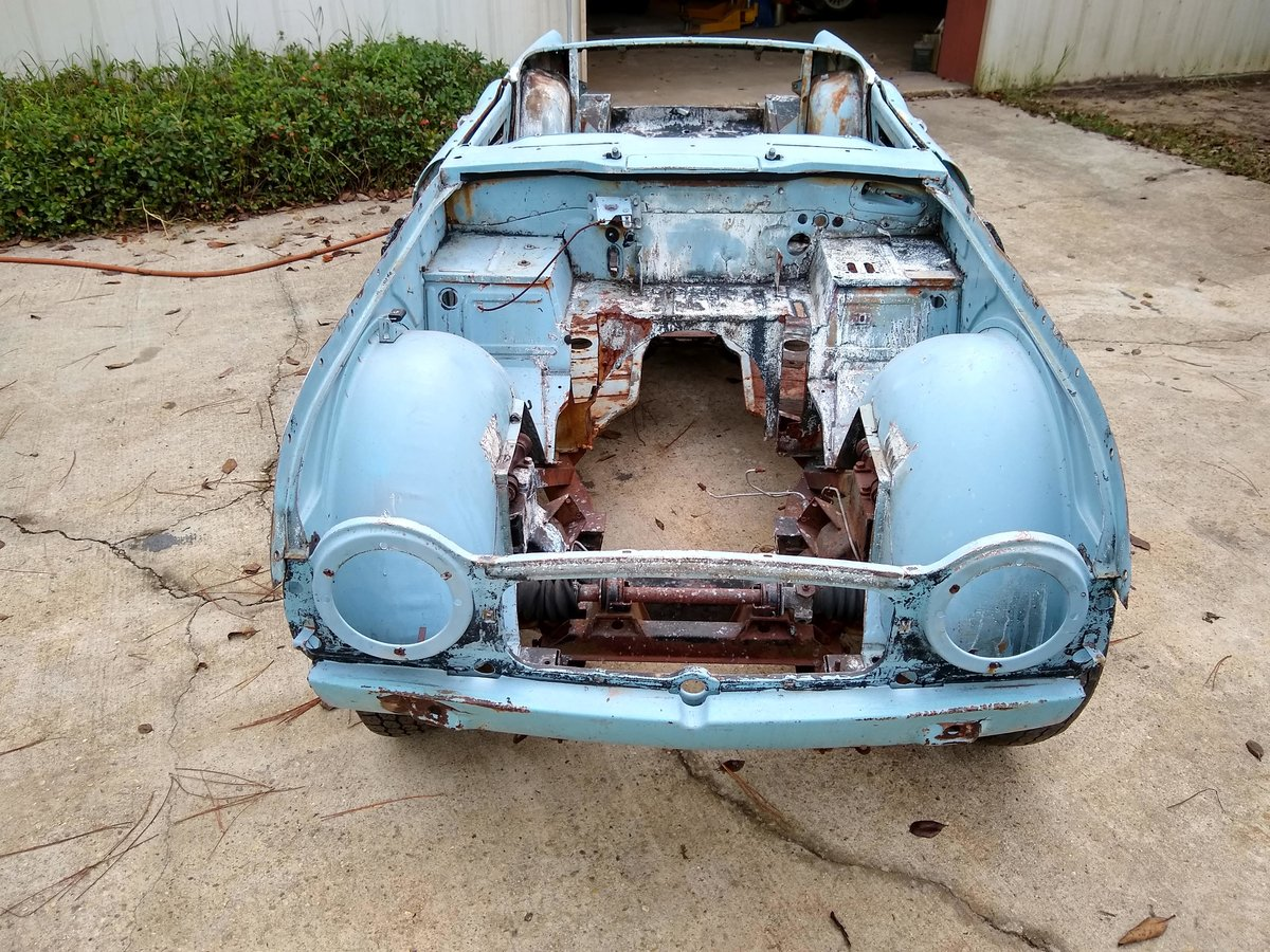 1967 LHD TR4A IRS For Restoration For Sale (picture 2 of 6)