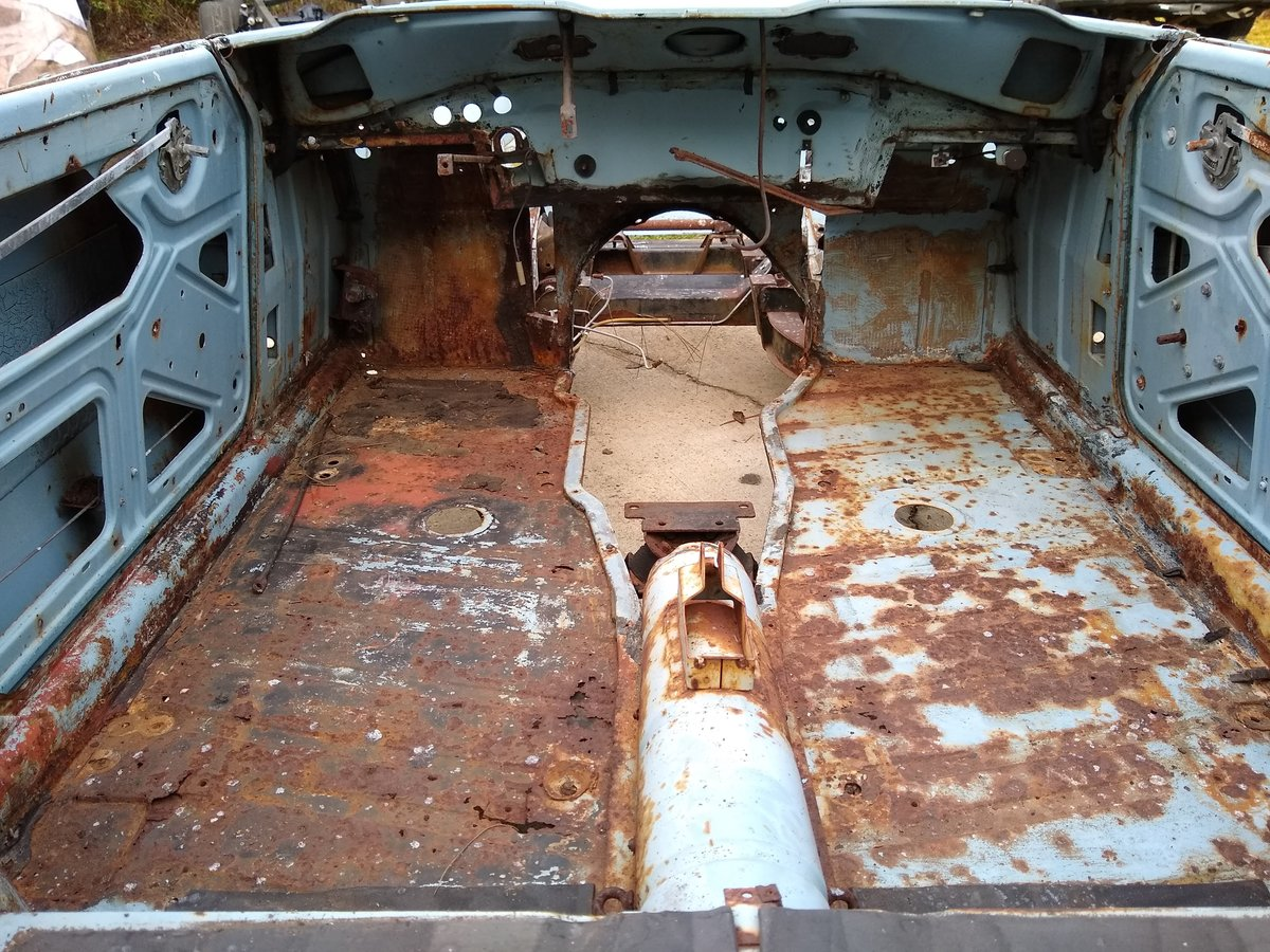 1967 LHD TR4A IRS For Restoration For Sale (picture 3 of 6)