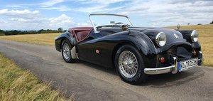 "1953 Triumph TR2 very early ""Longdoor"" model LHD"
