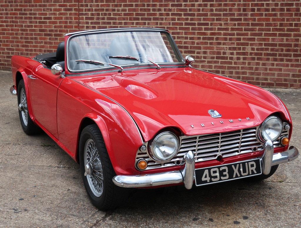 1962 Triumph TR4  For Sale (picture 1 of 6)