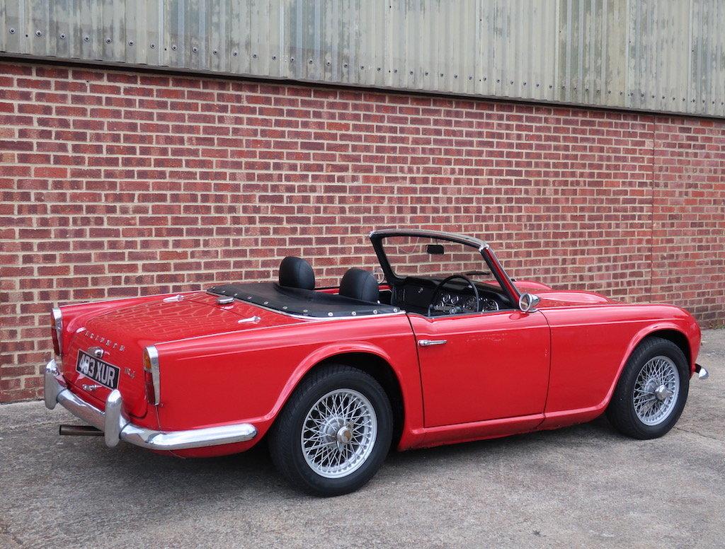 1962 Triumph TR4  For Sale (picture 3 of 6)