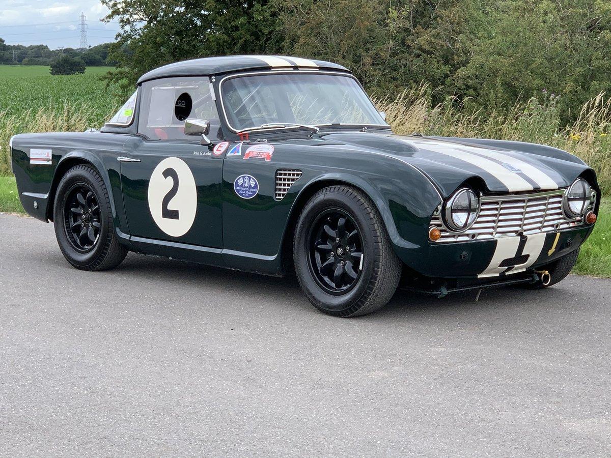 1964/B Triumph TR4 FIA Racecar SOLD (picture 1 of 6)