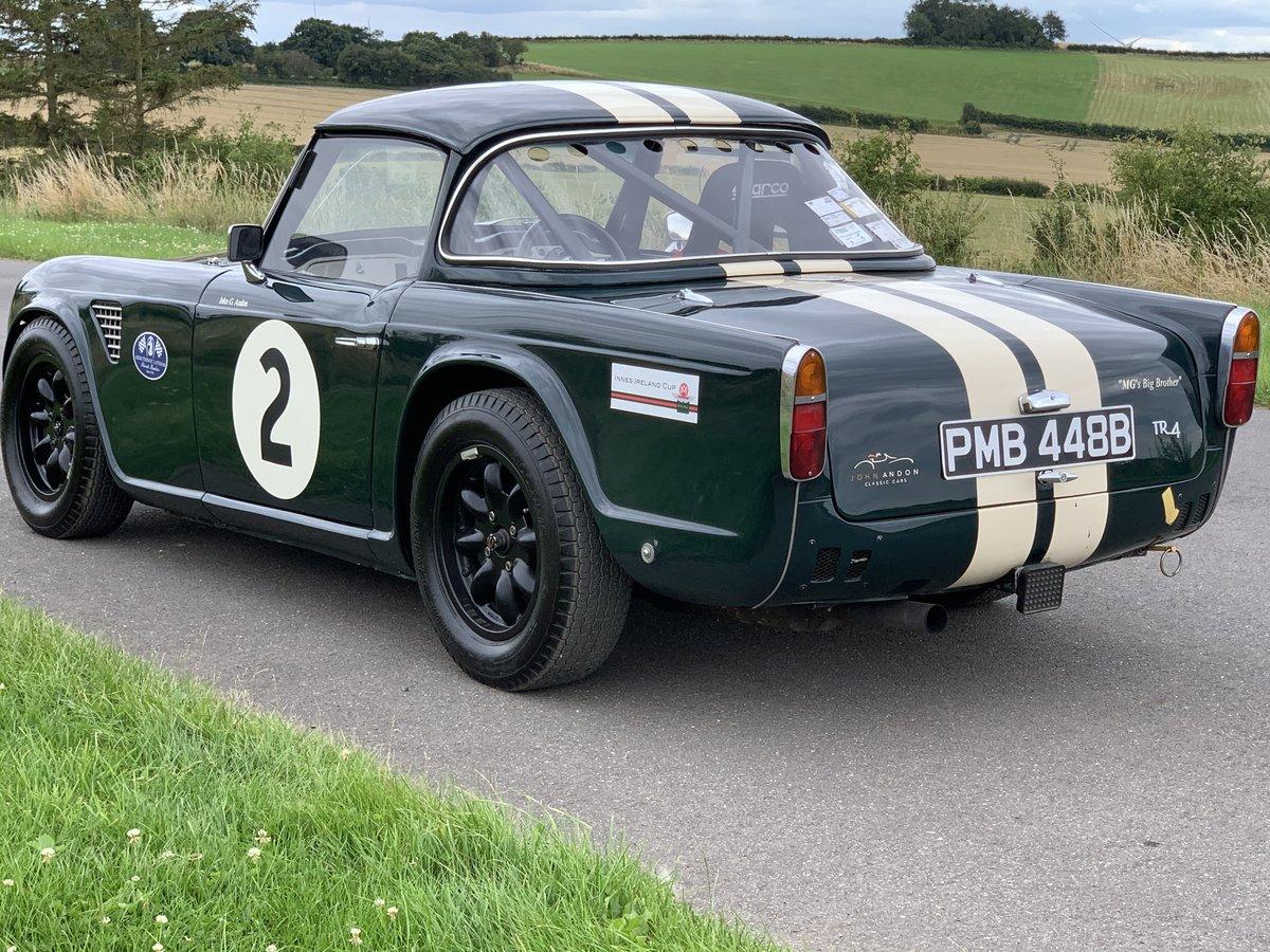 1964/B Triumph TR4 FIA Racecar SOLD (picture 3 of 6)