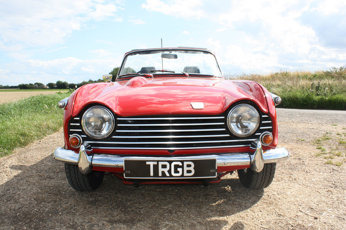 1968 TRIUMPH TR5 BEAUTIFULLY PRESENTED IN SIGNAL RED WITH OV SOLD (picture 6 of 6)