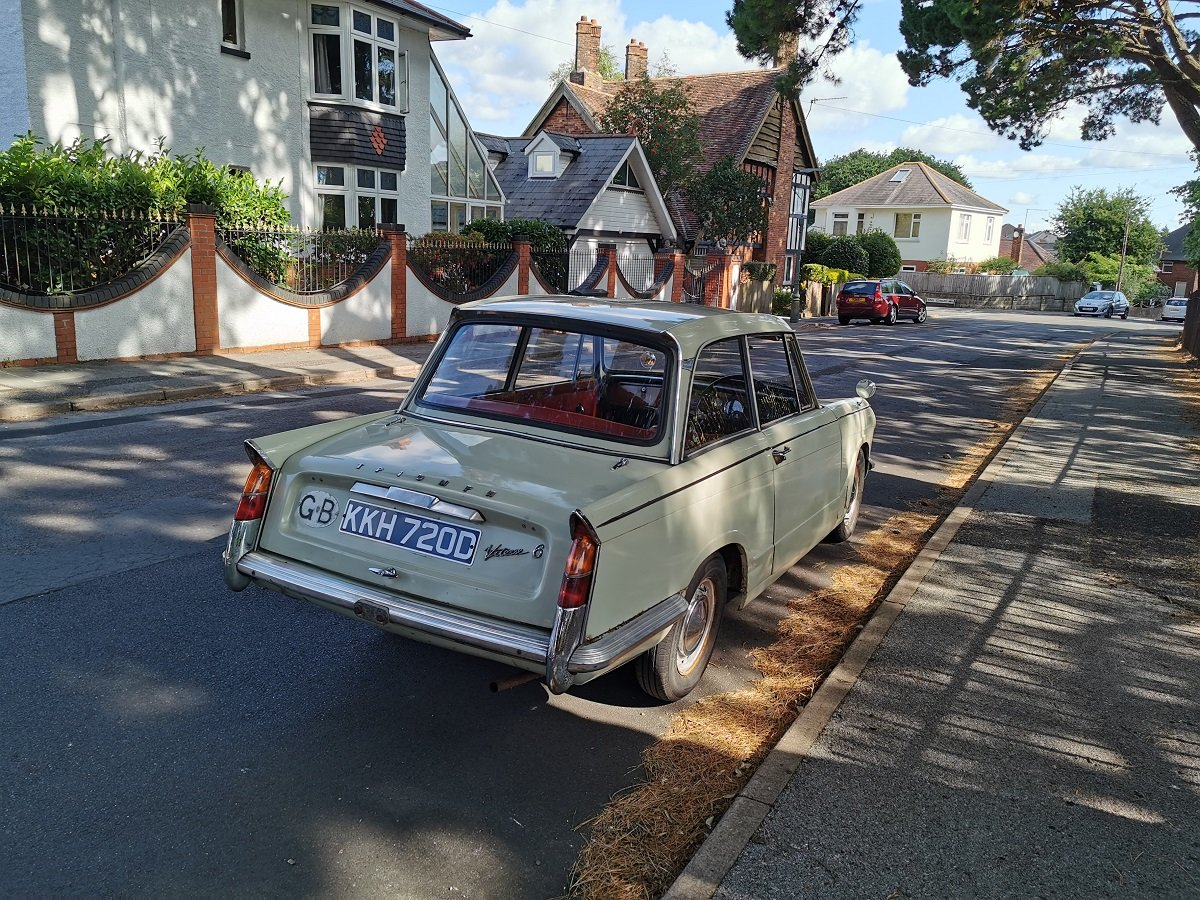 Triumph Vitesse 1966 - To be auctioned 30-10-20 For Sale by Auction (picture 2 of 6)