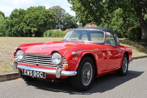 Triumpg TR4A IRS 1965 - To be auctioned 30-10-20
