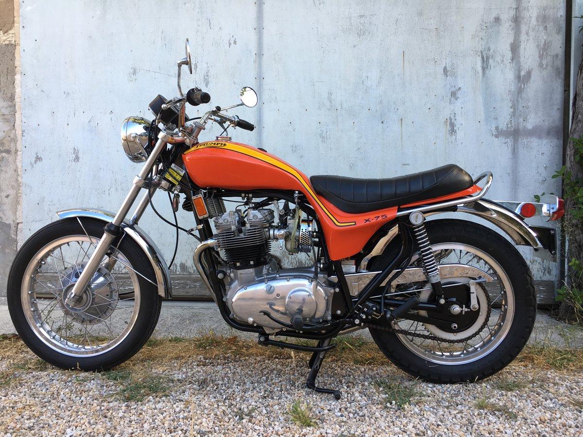 1973 Triumph Hurricane 3500 orig. miles ! For Sale (picture 2 of 6)