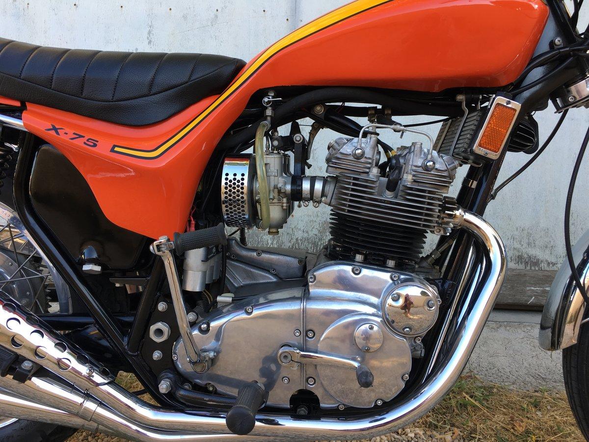 1973 Triumph Hurricane 3500 orig. miles ! For Sale (picture 4 of 6)