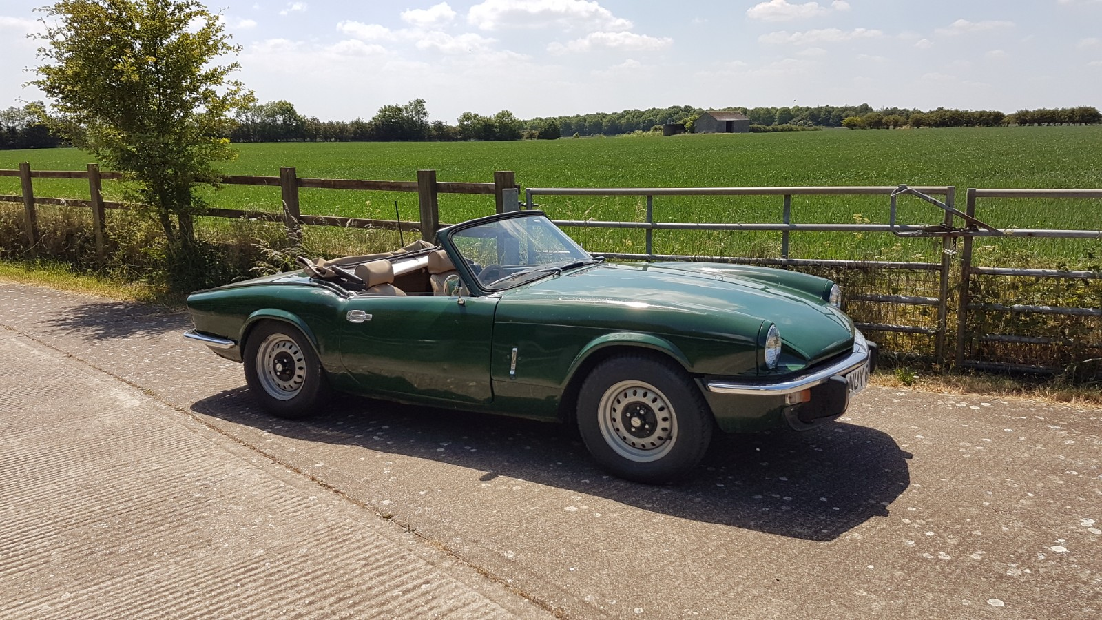1975 Triumph Spitfire 1500 Overdrive  SOLD (picture 1 of 6)