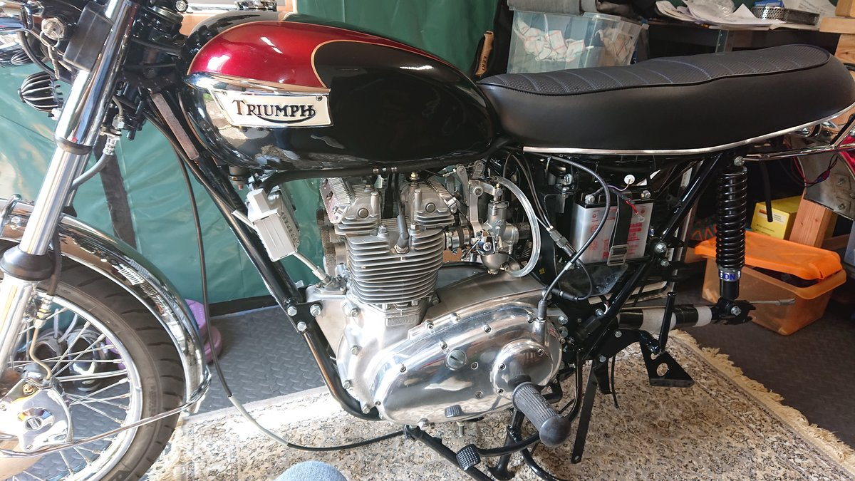 1973 Triumph T150V Trident For Sale (picture 4 of 6)