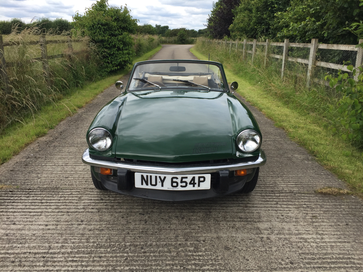 1975 Triumph Spitfire 1500 Overdrive  SOLD (picture 5 of 6)