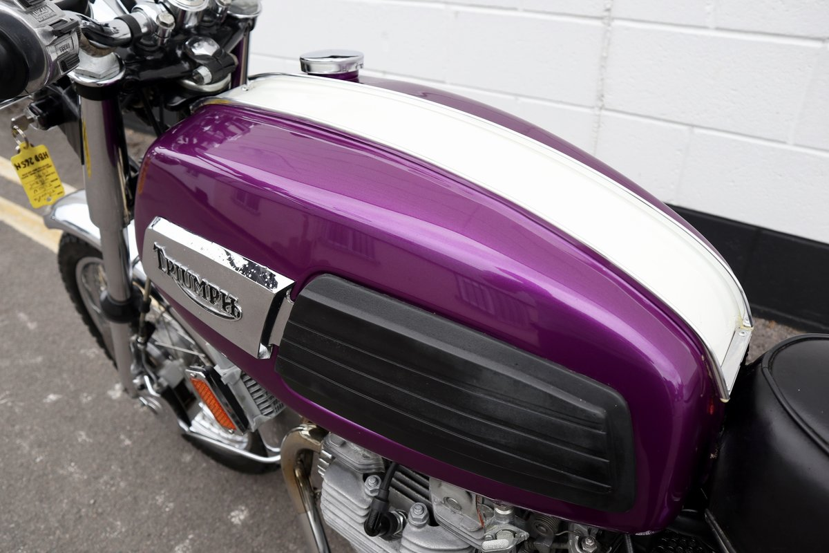1975 Triumph T150V Trident 750cc -  Excellent Fully Restored For Sale (picture 6 of 6)