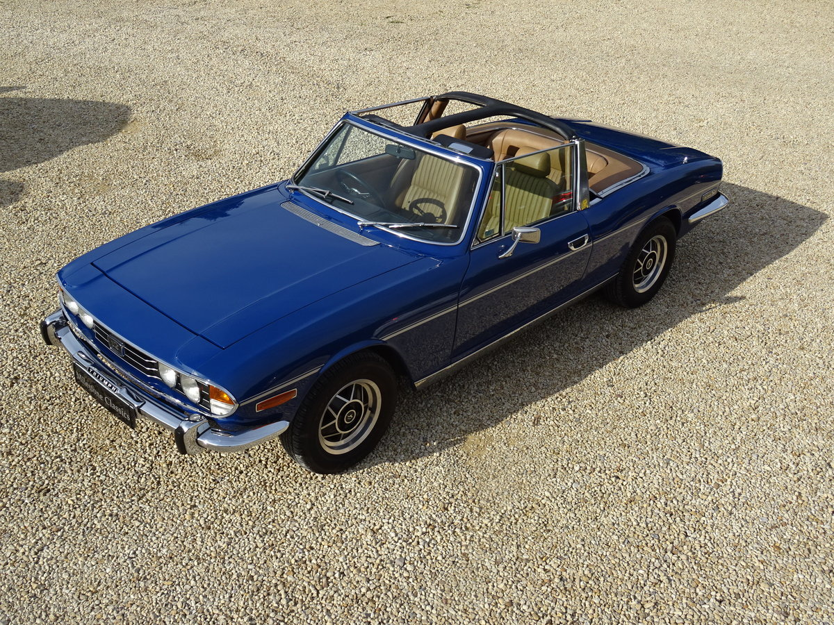 1977 Triumph Stag: Full Restoration/Automatic For Sale (picture 1 of 6)