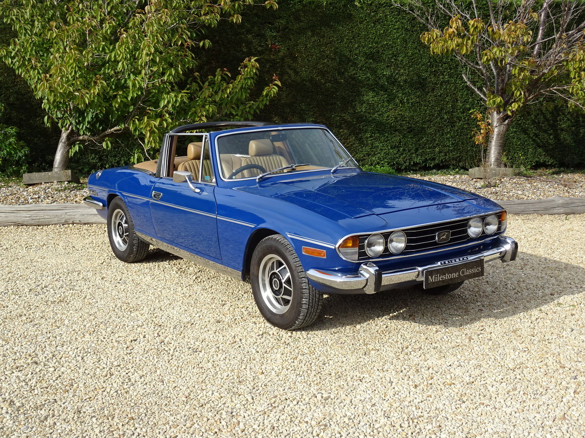 1977 Triumph Stag: Full Restoration/Automatic For Sale (picture 2 of 6)