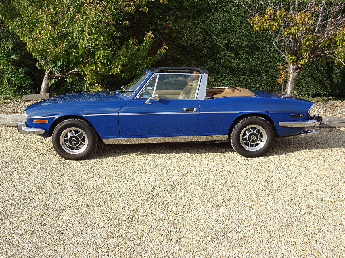 1977 Triumph Stag: Full Restoration/Automatic For Sale (picture 3 of 6)