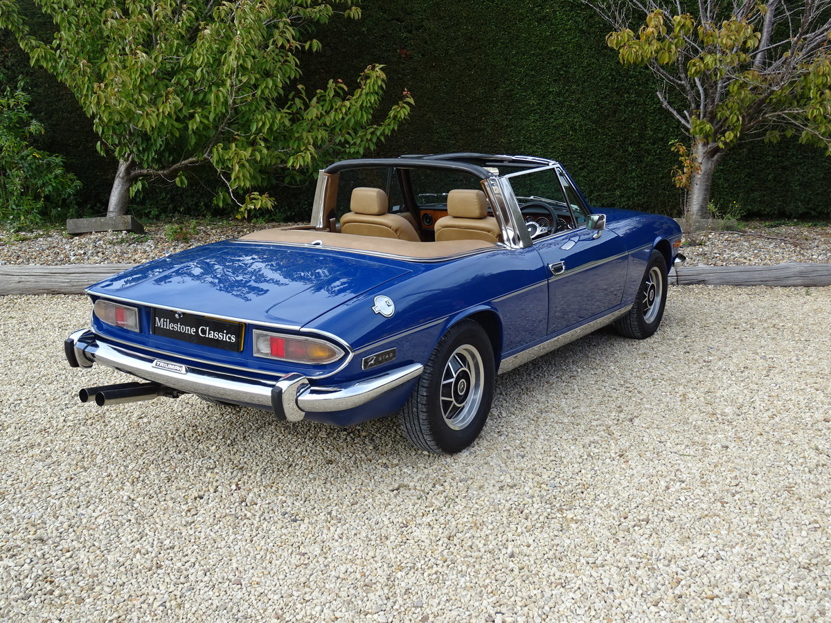 1977 Triumph Stag: Full Restoration/Automatic For Sale (picture 4 of 6)