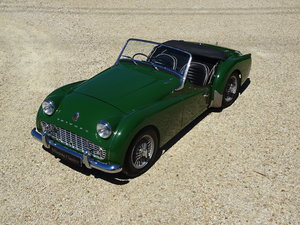 1958 Triumph TR3a - Fully Restored with Overdrive For Sale