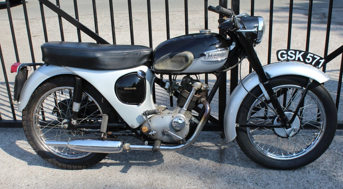 1963 Triumph Tiger Cub Matching engine and frame numbers SOLD (picture 1 of 6)