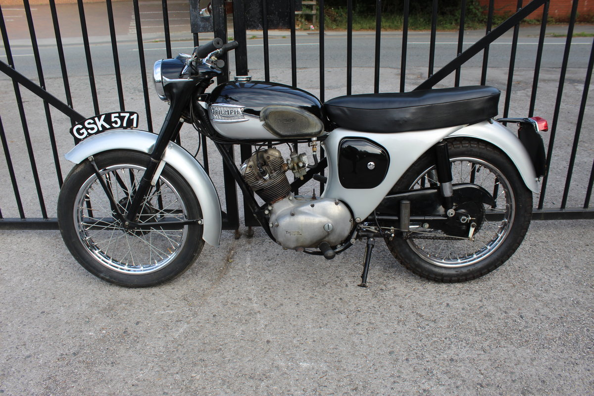 1963 Triumph Tiger Cub Matching engine and frame numbers SOLD (picture 4 of 6)