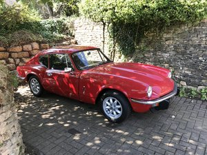 Triumph GT6 MKIII Overdrive, New warranted engine