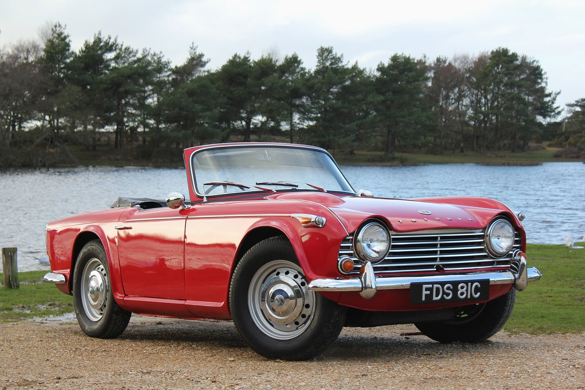 1965 Triumph TR4a IRS £10k recent mechanical work For Sale (picture 1 of 6)