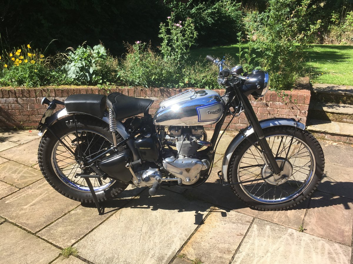 1954 Triumph TR5 Trophy For Sale (picture 1 of 6)