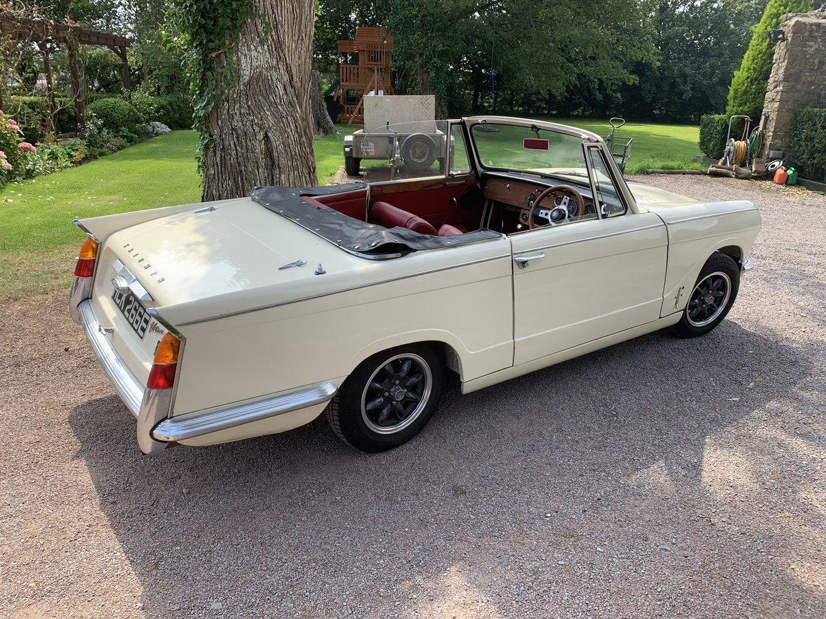 1967 Triumph vitesse convertible SOLD (picture 1 of 6)