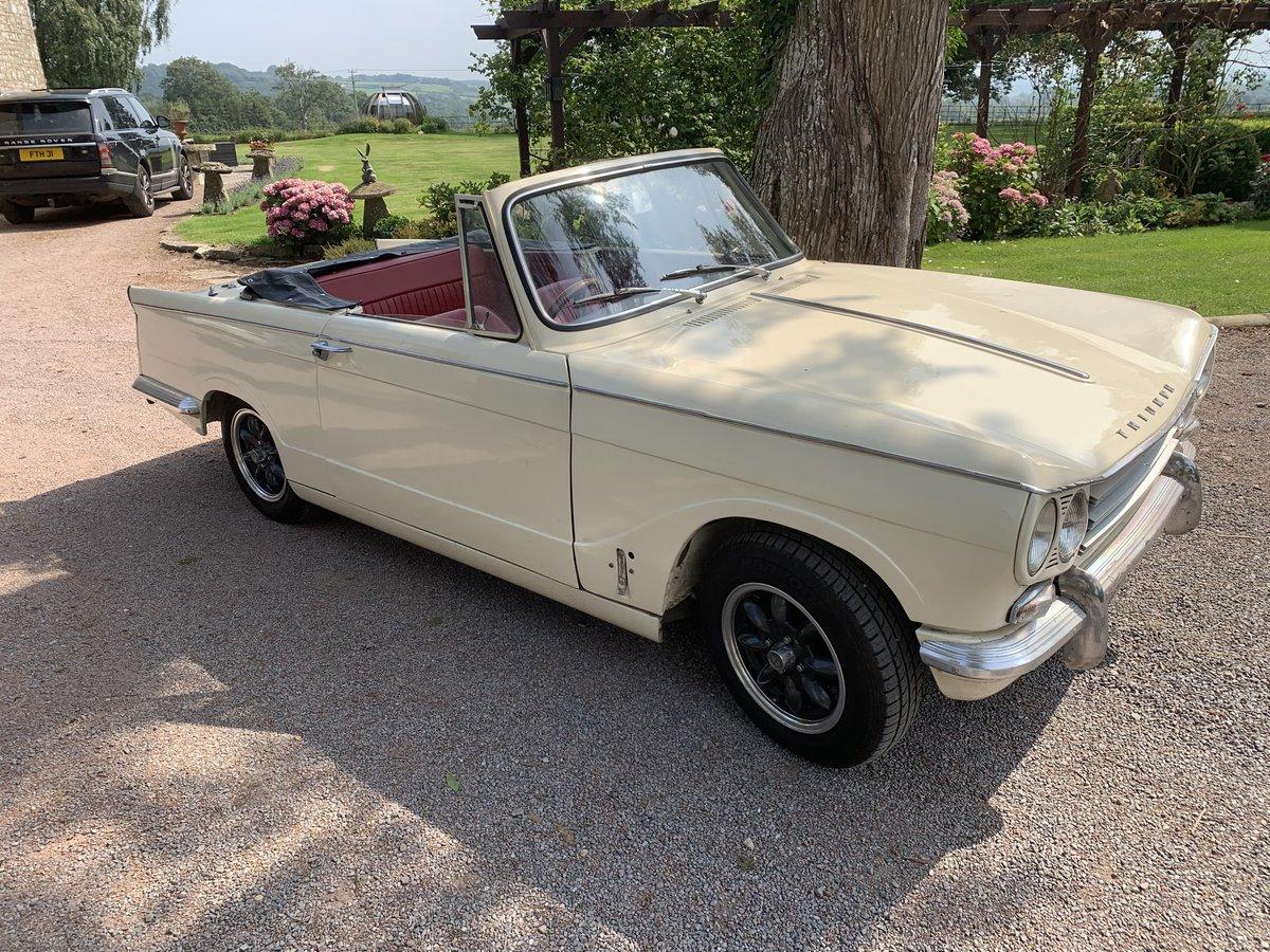 1967 Triumph vitesse convertible SOLD (picture 2 of 6)