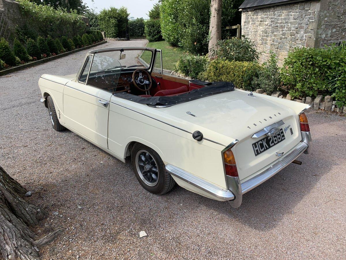 1967 Triumph vitesse convertible SOLD (picture 4 of 6)