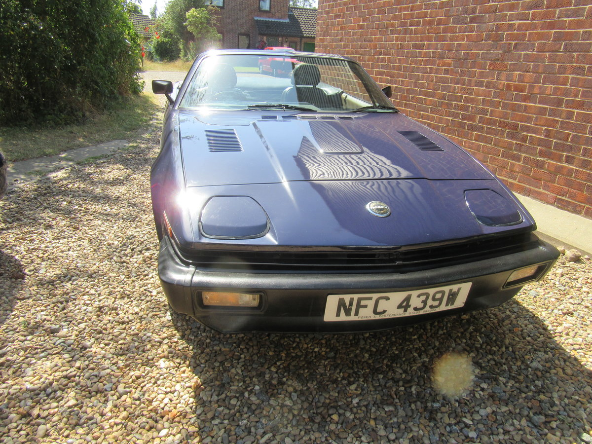 1981 Solihull built Triumph TR7 convertible SOLD (picture 1 of 6)