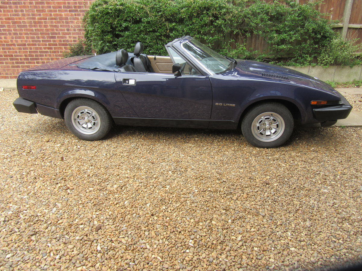 1981 Solihull built Triumph TR7 convertible SOLD (picture 6 of 6)