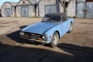 TRIUMPH TR6 BARN FIND 150bhp UK CAR WITH OVERDRIVE