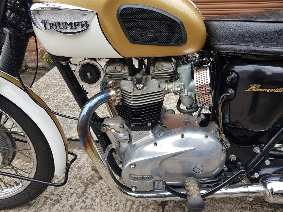 1964 Triumph T120 Bonnie  For Sale (picture 4 of 6)