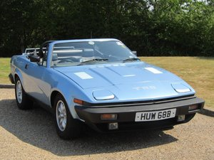 1980 Triumph TR8 Convertible at ACA 22nd August