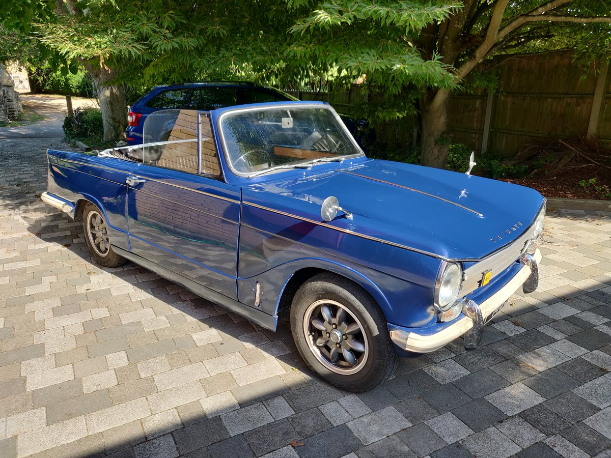 1971 Triumph Herald 13/60 convertible For Sale (picture 1 of 6)