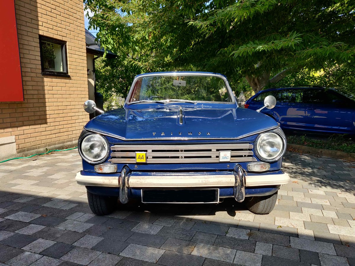 1971 Triumph Herald 13/60 convertible For Sale (picture 2 of 6)