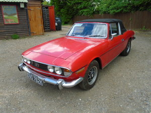 1972 MK1 Triumph Stag manual overdrive, mot/serviced For Sale